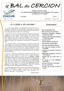 Lettre du Cercion